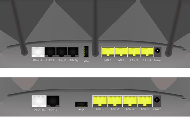 Router-Anschlussbild - Router24.info